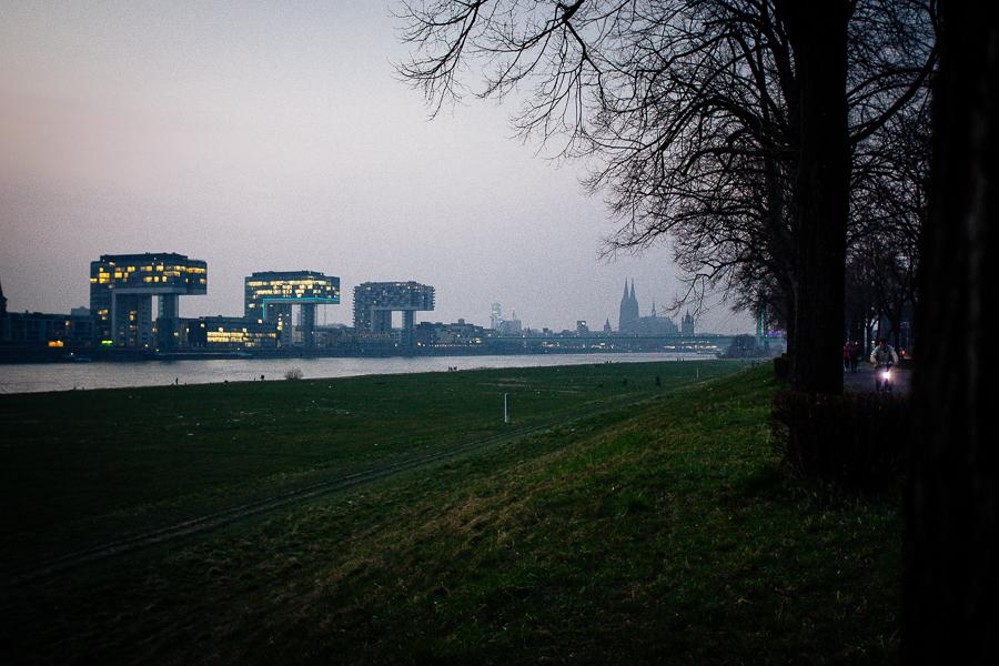 Köln aus südlicher Sicht